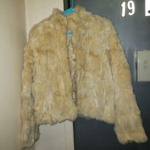 Wilson's Leather Maxima fur jacket